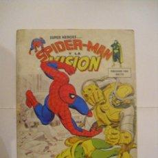 Cómics: SUPER HEROES VERTICE - VOLUMEN 2 - NUMERO 10 - SPIDERMAN Y LA VISION - CJ 43 - GORBAUD. Lote 45798850
