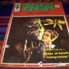 Cómics: VÉRTICE VOL. 2 FANTOM Nº 17. 25 PTS. 1975. DRACULA EN CAMPO DE BATALLA ENSANGRENTADO. DIFÍCIL!!!!. Lote 45844655