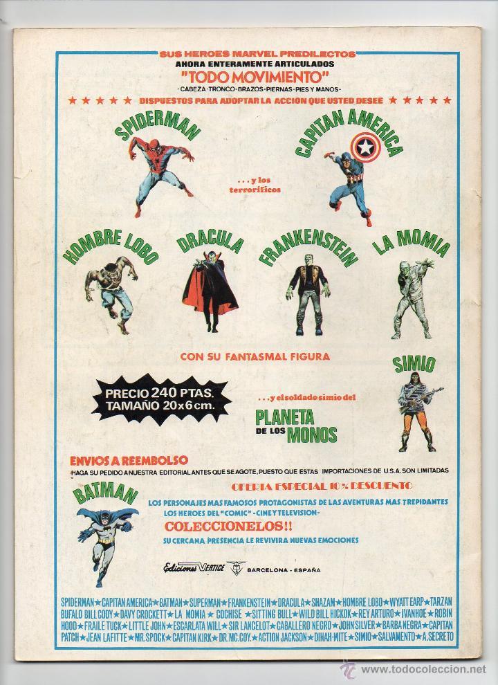 Cómics: SUPER HEROES V2 Nº42 VÉRTICE - Foto 2 - 45867221