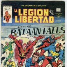 Cómics: LA LEGION DE LA LIBERTAD MUNDI COMICS VOL 1 Nº 34 50 PESETAS. Lote 45902000