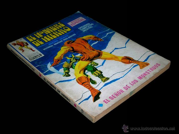 EL HOMBRE DE HIERRO IRON MAN Nº 13 MONSTRUOS, ED. VERTICE BARCELONA, VOL.1, 25 PTAS, ORIGINAL 1970. (Tebeos y Comics - Vértice - Hombre de Hierro)