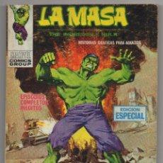 Cómics: LA MASA Nº 20 (VERTICE 1972). Lote 46031046
