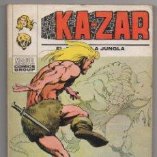 Cómics: KA-ZAR KAZAR Nº 2 (VERTICE 1973) ¡¡RESERVADO, NO COMPRAR!!. Lote 46031088