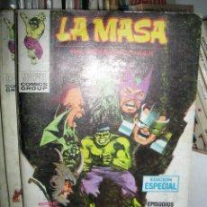 Cómics: LA MASA Nº 18 VOL 1. VÉRTICE.. Lote 46161398