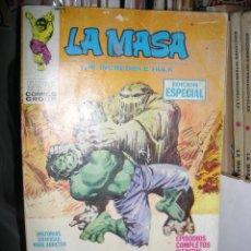 Cómics: LA MASA Nº 9 VOL 1. VÉRTICE. FALTAN ALGUNAS PÁGINAS.. Lote 49080504