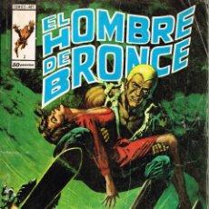 Cómics: EL HOMBRE DE BRONCE Nº 3 - EL ESQUEMA INFIERNO - ED. VERTICE 1976. Lote 46211034