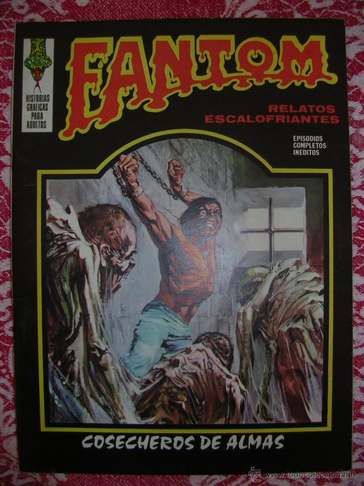 FANTOM Nº 7: COSECHEROS DE ALMAS (Tebeos y Comics - Vértice - Terror)