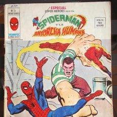 Cómics: ESPECIAL SUPER HEROES VERTICE 14. SPIDERMAN Y LA ANTORCHA HUMANA.. Lote 221634523