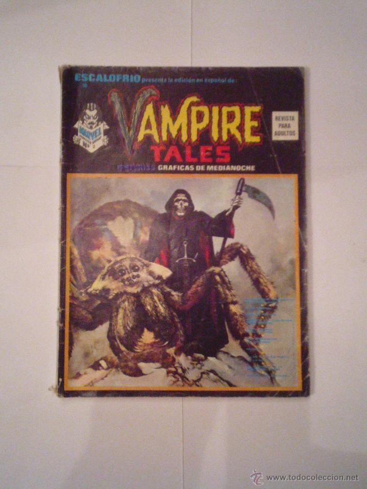ESCALOFRIO PRESENTA - VAMPIRE TALES - NUMERO 2 - NUMERO 10 DE LA COLECCION - CJ 9 (Tebeos y Comics - Vértice - Otros)