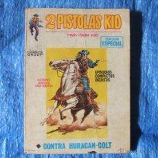Cómics: 2 PISTOLAS KID - VOL.1 NUM 5, EDICIONES.VERTICE 1971 25 PTS 128 PAGINAS. Lote 46409938