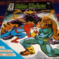 Cómics: VÉRTICE MUNDI COMICS VOL. 1 PETER PARKER SPIDERMAN Nº 7. 40 PTS. 1979. LA LLEGADA DEL JABALÍ. BE.. Lote 46447240