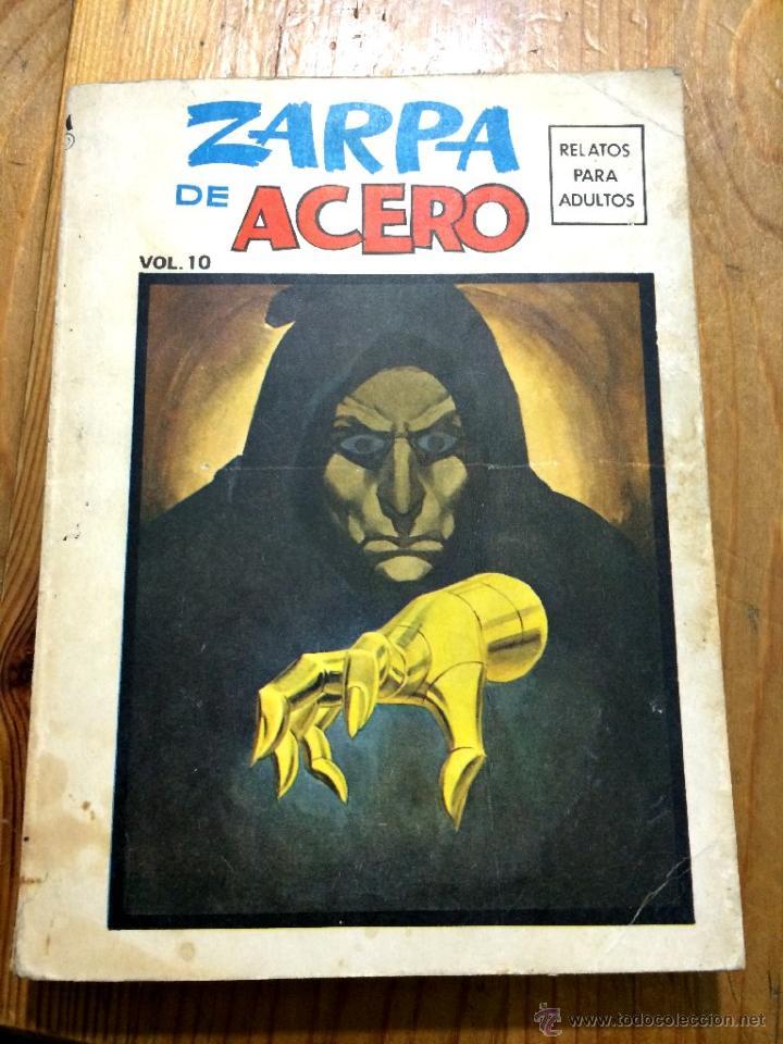 ZARPA DE ACERO VOL. 10 - VERTICE EDICIÓN ESPECIAL 256 PÁGINAS - VER FOTOS ADICIONALES (Tebeos y Comics - Vértice - Otros)