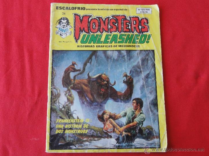 ESCALOFRIO Nº 26. MONSTERS UNLEASHED! (Tebeos y Comics - Vértice - Terror)