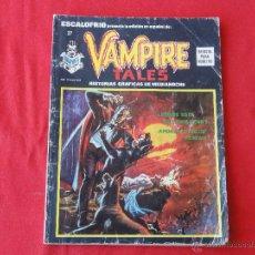 Cómics: ESCALOFRIO Nº 27. VAMPIRE TALES Nº 7.. Lote 46618234