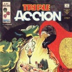 Cómics: TRIPLE ACCION 1 AL 23 COMPLETA VERTICE COMPLETADEFENSORES. Lote 46620752