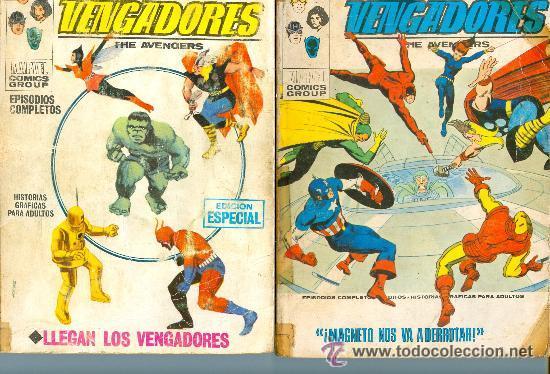 LOS VENGADORES. VÉRTICE. COLECCIÓN COMPLETA. 52 NÚMEROS. (Tebeos y Comics - Vértice - Vengadores)
