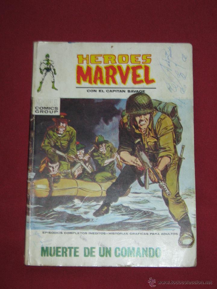HEROES MARVEL - CAPITAN SAVAGE Nº 2 - MUERTE DE UN COMANDO (Tebeos y Comics - Vértice - Otros)