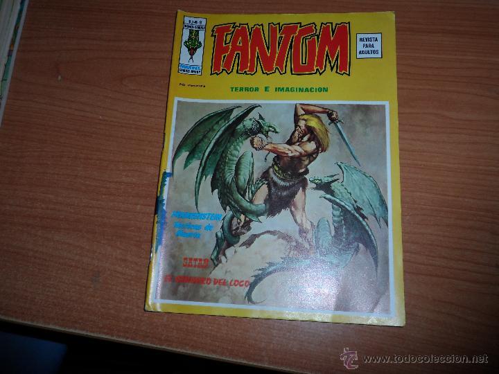 FANTOM Nº 8 EDICIONES VERTICE (Tebeos y Comics - Vértice - Terror)