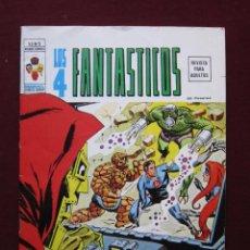 Cómics: LOS 4 FANTÁSTICOS Nº 5. V.2. ¡ATAQUE!. VERTICE. VOL. 2. TEBENI NUEVO. Lote 46710212
