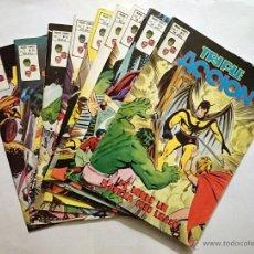 Cómics: TRIPLE ACCION VOL. 1 # 09-10-11-12-13-14-15-16-17 (VERTICE) - LOTE 9 NUMEROS - 1979 - LOS DEFENSORES. Lote 46885844