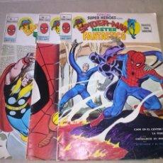 Cómics: ESPECIAL SUPER HEROES - Nº 1-2-3- VERTICE -ES. Lote 46905030