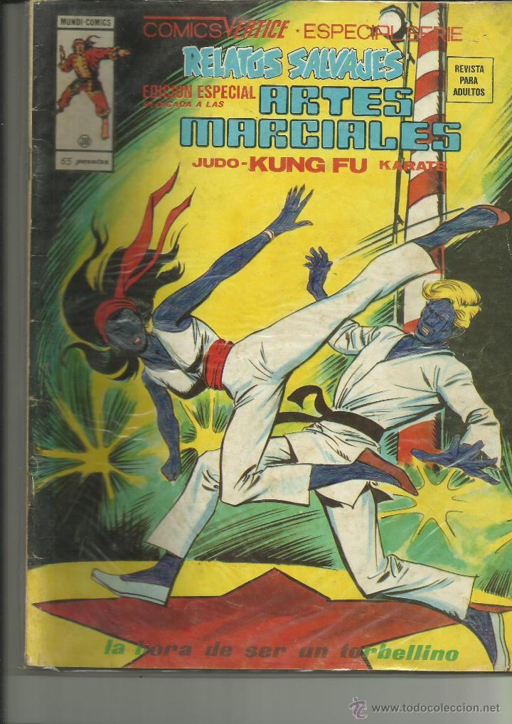 RELATOS SALVAJES ARTES MARCIALES 38 VERTICE (Tebeos y Comics - Vértice - Relatos Salvajes)