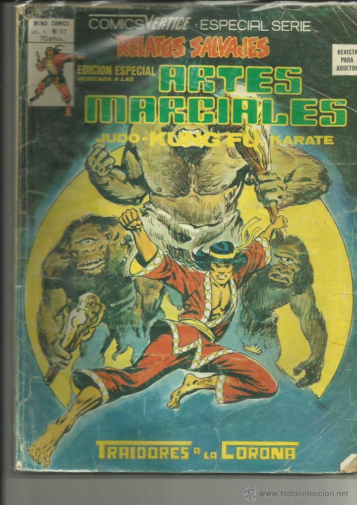 RELATOS SALVAJES ARTES MARCIALES 52 VERTICE (Tebeos y Comics - Vértice - Relatos Salvajes)