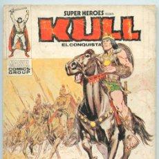 Cómics: SUPER HEROES PRESENTA KULL EL CONQUISTADOR - Nº 3 - CABALGA EL REY KULL - ED. VERTICE - 1974. Lote 46966492