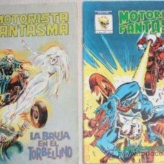 Cómics: MOTORISTA FANTASMA Nº4 (MUNDICOMICS) + Nº 6 (SURCO). Lote 47052868