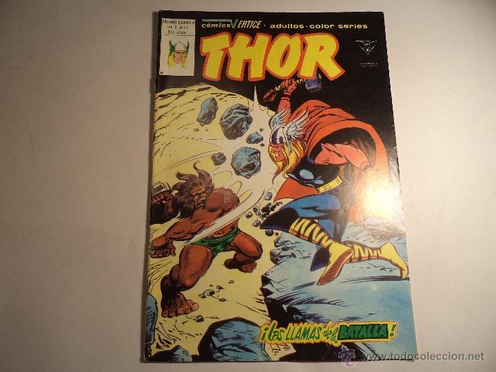 THOR VOL 2 Nº 51. VERTICE. (Z-5) (Tebeos y Comics - Vértice - Thor)