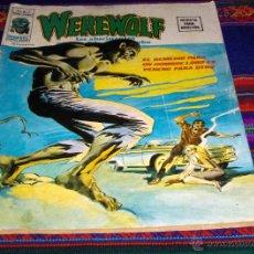 Cómics: VÉRTICE VOL. 2 WEREWOLF Nº 3. 1975. 35 PTS. HOMBRE LOBO. EL REMEDIO PARA UN HOMBRE LOBO ES VENENO.... Lote 47235468