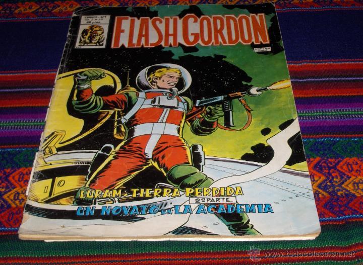 VÉRTICE VOL. 2 FLASH GORDON Nº 32. 60 PTS. 1981. EURAM, TIERRA PERDIDA 2ª PARTE. RARO. (Tebeos y Comics - Vértice - Flash Gordon)