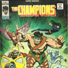 Cómics: SUPER HÉROES VOLUMEN 2 NÚMERO 49 THE CHAMPIONS MUNDI-CÓMICS VÉRTICE MARVEL. Lote 243325990