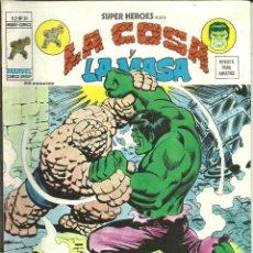 Cómics: SUPER HÉROES VOLUMEN 2 NÚMERO 50 LA COSA Y LA MASA MUNDI-CÓMICS VÉRTICE MARVEL. Lote 47355732