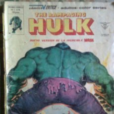 Cómics: THE RAMPAGING HULK- Nº 14 -´TEMPORADA DE TERROR`-1981-BILL SIENKIEWICZ-RARO-OPORTUNIDAD-3012. Lote 220482442