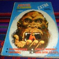 Cómics: VÉRTICE VOL. 1 MYTEK EL PODEROSO Nº 3. 1966 FRANJA ROSA. 25 PTS. ELECTROCUTADO. DIFÍCIL!!!!. Lote 47533973
