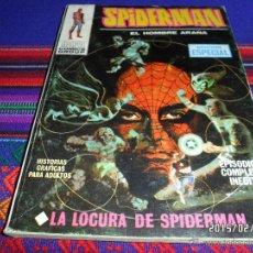 Cómics: VÉRTICE VOL. 1 SPIDERMAN Nº 10. 25 PTS. 1970. LA LOCURA DE SPIDERMAN. MUY BUEN ESTADO.. Lote 47571554
