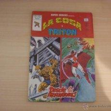 Cómics: SUPER HEROES Nº 130, LA COSA Y TRITÓN, EDITORIAL VÉRTICE. Lote 47617245