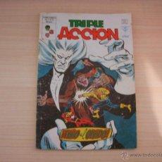 Fumetti: TRIPLE ACCIÓN Nº 22, EDITORIAL VÉRTICE. Lote 47620794