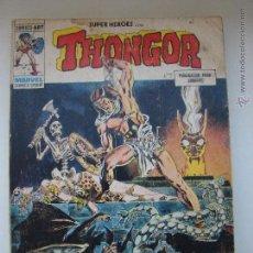 Cómics: THONGOR. EDICIONES VERTICE N. 9 EL DEMONIO DE ZANGABAL. Lote 47805230