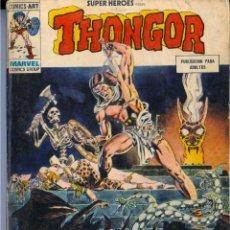 Cómics: SUPER HÉROES Nº 9 (THONGOR) VÉRTICE TACO. Lote 47816418