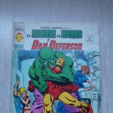 Cómics: HEROES MARVEL EL HOMBRE DE HIERRO Y DAN DEFENSOR V.2 Nº 16. Lote 47817782