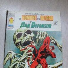 Cómics: HEROES MARVEL EL HOMBRE DE HIERRO Y DAN DEFENSOR V.2 Nº 19. Lote 47817890