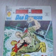 Cómics: HEROES MARVEL EL HOMBRE DE HIERRO Y DAN DEFENSOR V.2 Nº 25. Lote 47817904