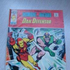 Cómics: HEROES MARVEL EL HOMBRE DE HIERRO Y DAN DEFENSOR V.2 Nº 36. Lote 47818109
