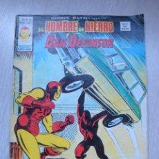 Cómics: HEROES MARVEL EL HOMBRE DE HIERRO Y DAN DEFENSOR V.2 Nº 40. Lote 47818166