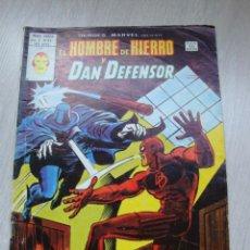 Cómics: HEROES MARVEL EL HOMBRE DE HIERRO Y DAN DEFENSOR V.2 Nº 53. Lote 47818224