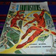 Cómics: VÉRTICE VOL. 2 LOS 4 FANTÁSTICOS Nº 13. 35 PTS. 1975. JOHNNY STORM, LA ANTORCHA HUMANA.. Lote 47850763