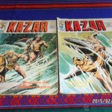 Cómics: VÉRTICE VOL. 2 KAZAR KA-ZAR KA ZAR Nº 2. 30 PTS. 1975. DIFÍCIL!!!!!. Lote 47850843