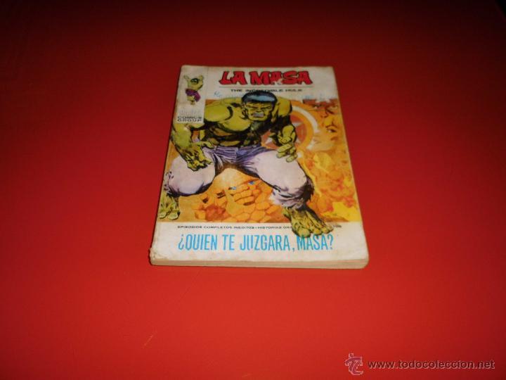 LA MASA VOL. 1 Nº 25 VERTICE (Tebeos y Comics - Vértice - La Masa)